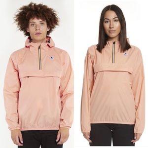 Unisex K-Way Leon Half Zip Jacket